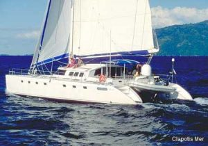Catamaran 56 Sailing