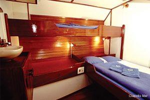 Seychelles 35 metre traditional schooner Triple Cabin