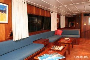 Seychelles 40 metre Sailing Schooner Saloon Area