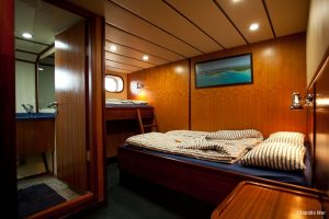 Seychelles 42 metre Ketch Sailing Yacht Triple Cabin