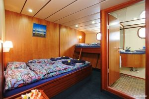Seychelles 42 metre Ketch Sailing Yacht Triple Cabin with Ensuite bath