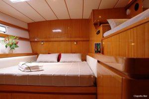 Seychelles 85 ft Luxury Sailing Catamaran Double Cabin