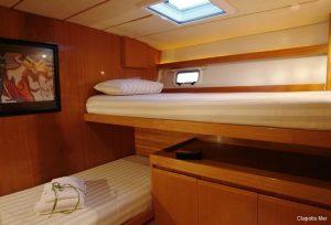 Seychelles 85 ft Luxury Sailing Catamaran Twin Cabin