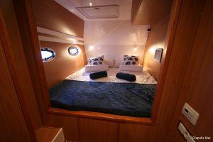 Seychelles Africat 45 ft Power Catamaran Double Cabin 1