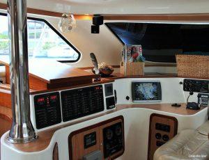 Seychelles Africat 45 ft Power Catamaran Navigation Area