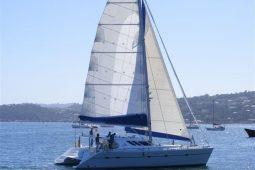 1Maldives Catamaran 480 Under Sail