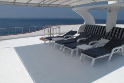 3Maldives 35 metre Motor Yacht Sundeck Area