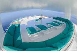 3Maldives 43 metre Luxury Motor Yacht Sun Deck View