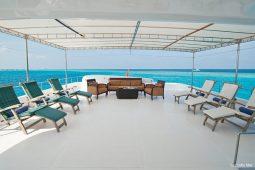 4Maldives 28 m Luxury Motor Yacht Upper Deck