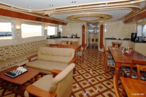 5Maldives 37 metre Deluxe Motor Yacht Main Lounge