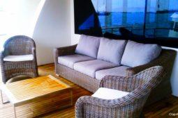 6Maldives 123 ft Luxury Motor Yacht Outdoor Saloon