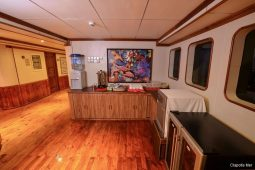 6Maldives 35 metre Motor Yacht coffee station on main deck