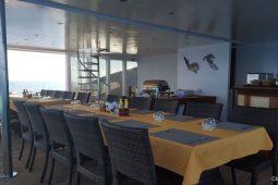 6Maldives 43 metre Luxury Motor Yacht Restaurant Bar