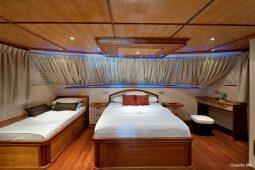 Maldives 28 m Luxury Motor Yacht Master Cabin