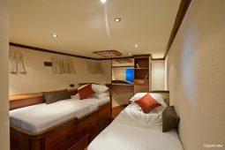 Maldives 28 m Luxury Motor Yacht Twin Cabin