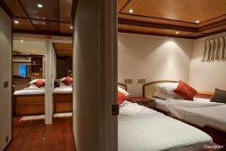 Maldives 28 m Luxury Motor Yacht Twin Cabins OK