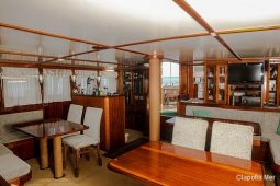 Maldives 30 m Sailing Schooner  Main Lounge