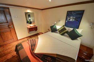 Maldives 35 metre Motor Yacht  Deluxe Double Cabin
