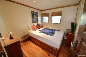 Maldives 35 metre Motor Yacht High Standard Cabin