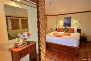 Maldives 35 metre Motor Yacht Master Cabin