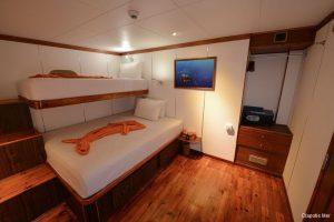 Maldives 35 metre Motor Yacht Standard Cabin