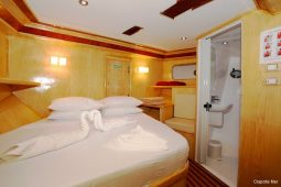 Maldives 37 metre Deluxe Motor Yacht Double Cabin 1
