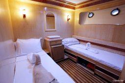 Maldives 37 metre Deluxe Motor Yacht Twin Cabin