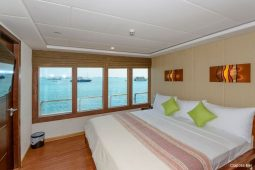 Maldives 43 metre Luxury Motor Yacht Double Cabin View