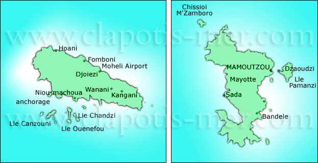 Moheli & Mayotte