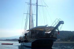 23 metre ketch gulet boat Italy