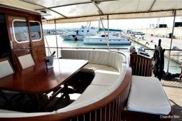 23 metre ketch gulet boat Italy