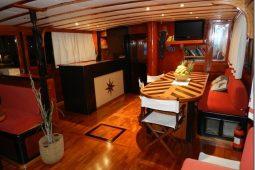 23 metre ketch gulet yacht Sa Italy