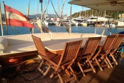24 metre ketch gulet cruise boat III Italy