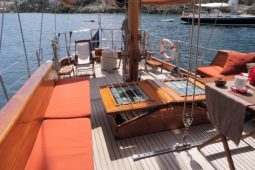 24 metre classic sailing ketch yacht Italy