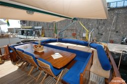 24 metre luxury cruising gulet Italy