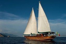 26 metre Turkish ketch gulet Italy