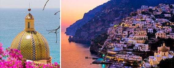 The Amalfi Coast · Positano, the Amalfi Coast