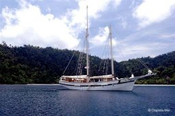 30 metre Sailing Schooner South East Asia Thailand