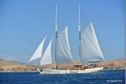 39 metre Luxury classic sailing schooner Indonesia