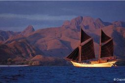 50 metre Luxury traditional sailing schooner Indonesia