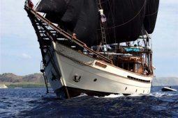 50 metre Luxury traditional sailing schooner Indonesia