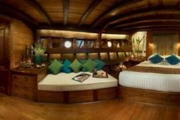 40 metre Luxury traditional sailing schooner Indonesia