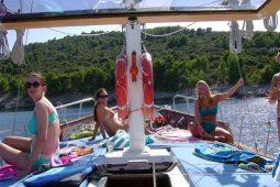 22 metre ketch gulet Croatia