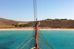 Clipper II traditional cruising yacht Greece