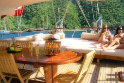 27 metre ketch gulet boat Turkey