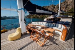 31 metre ketch gulet cruise boat Turkey