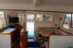 Quirimbas 48 ft Twin Spirit Power Catamaran-4