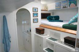 Zanzibar 50 ft Voyage Sailing Catamaran Stbd Aft Cabin