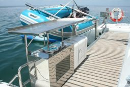 Zanzibar 50 ft Voyage Sailing Catamaran dive platform