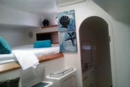 Zanzibar 50 ft Voyage Sailing Catamaran port aft cabin